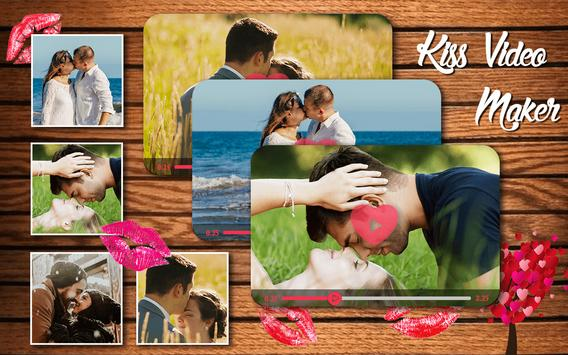 Kiss HD Video Maker With Music poster