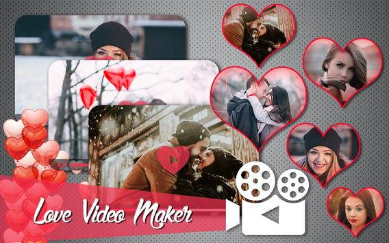 Love HD Video Maker With Music poster