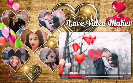 Love HD Video Maker With Music apk screenshot