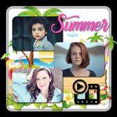 Summer HD Video Maker icon