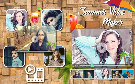 Summer HD Video Maker poster