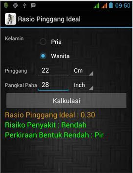 Rasio Pinggang Ideal poster