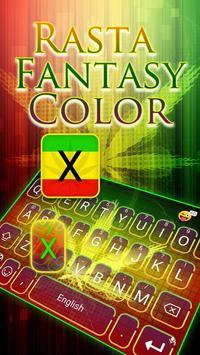 Rasta fantasy color poster