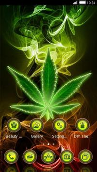 Reggae Weed Background