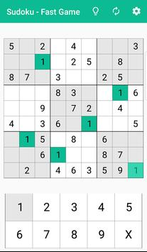 Sudoku - fast sudoku game screenshot 8