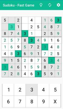 Sudoku - fast sudoku game screenshot 3