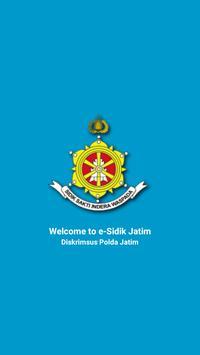 e-Sidik Polda Jatim poster