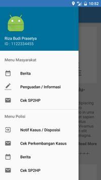 e-Sidik Polda Jatim apk screenshot