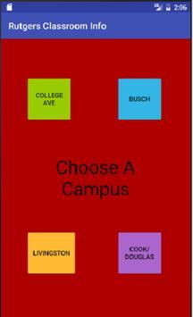Rutgers NB Classroom Info poster