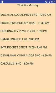 Rutgers NB Classroom Info apk screenshot