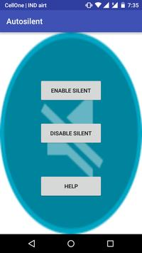 Automatic Phone Silent poster