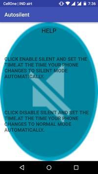 Automatic Phone Silent screenshot 9