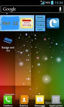 Badge and Go apk screenshot