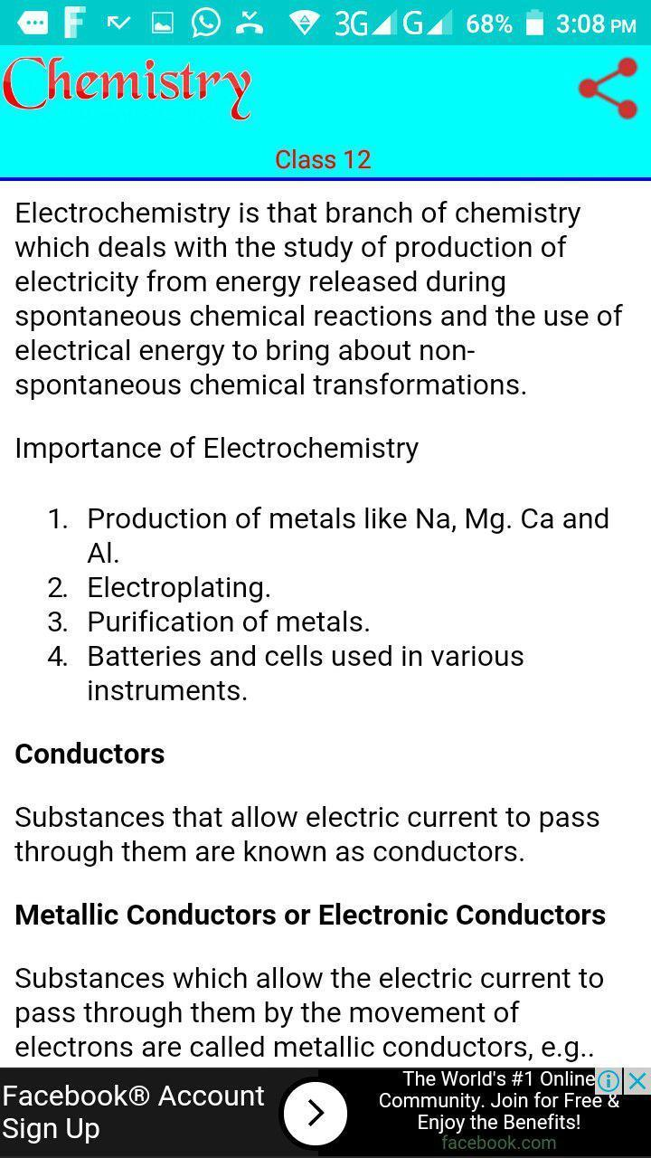 Class 12 Chemistry Notes for Android - APK Download