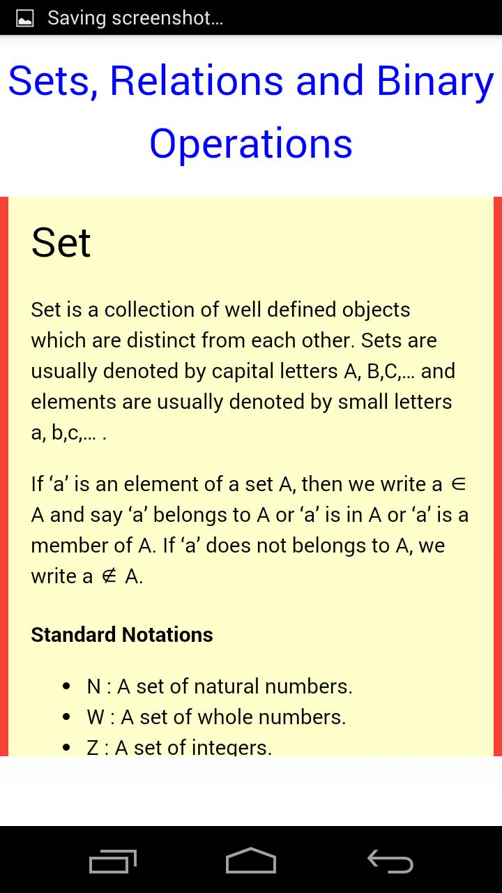 Class 12 Maths Notes for Android - APK Download