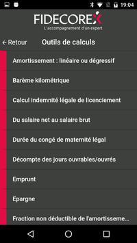 Fidecorex screenshot 1