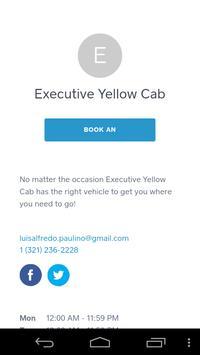 Executive Yellow Cab screenshot 1
