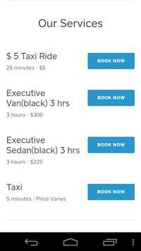 Executive Yellow Cab screenshot 2