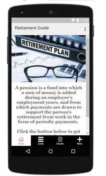 Retirement Planning Guide poster