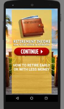 Retirement Income :New Sources poster