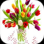 Colorful Tulips Live Wallpaper icon