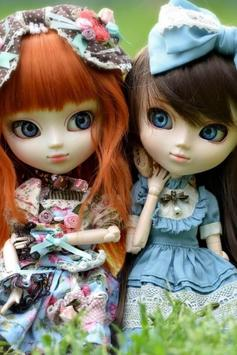Cute Dolls Live Wallpaper apk screenshot