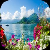 Beautiful Lake Live wallpaper icon