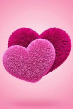 Fluffy Hearts Live Wallpaper screenshot 2