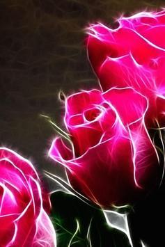 Neon Flowers Live Wallpaper apk screenshot