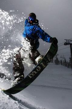 Snowboard Live Wallpaper apk screenshot