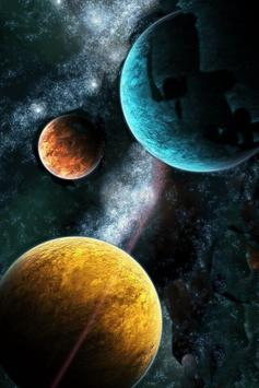 Solar System Live Wallpaper screenshot 1
