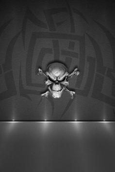 Skulls Live Wallpaper screenshot 1