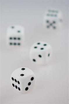 Rolling Dice Live Wallpaper poster