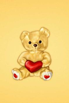 Teddy Bear Live Wallpaper apk screenshot