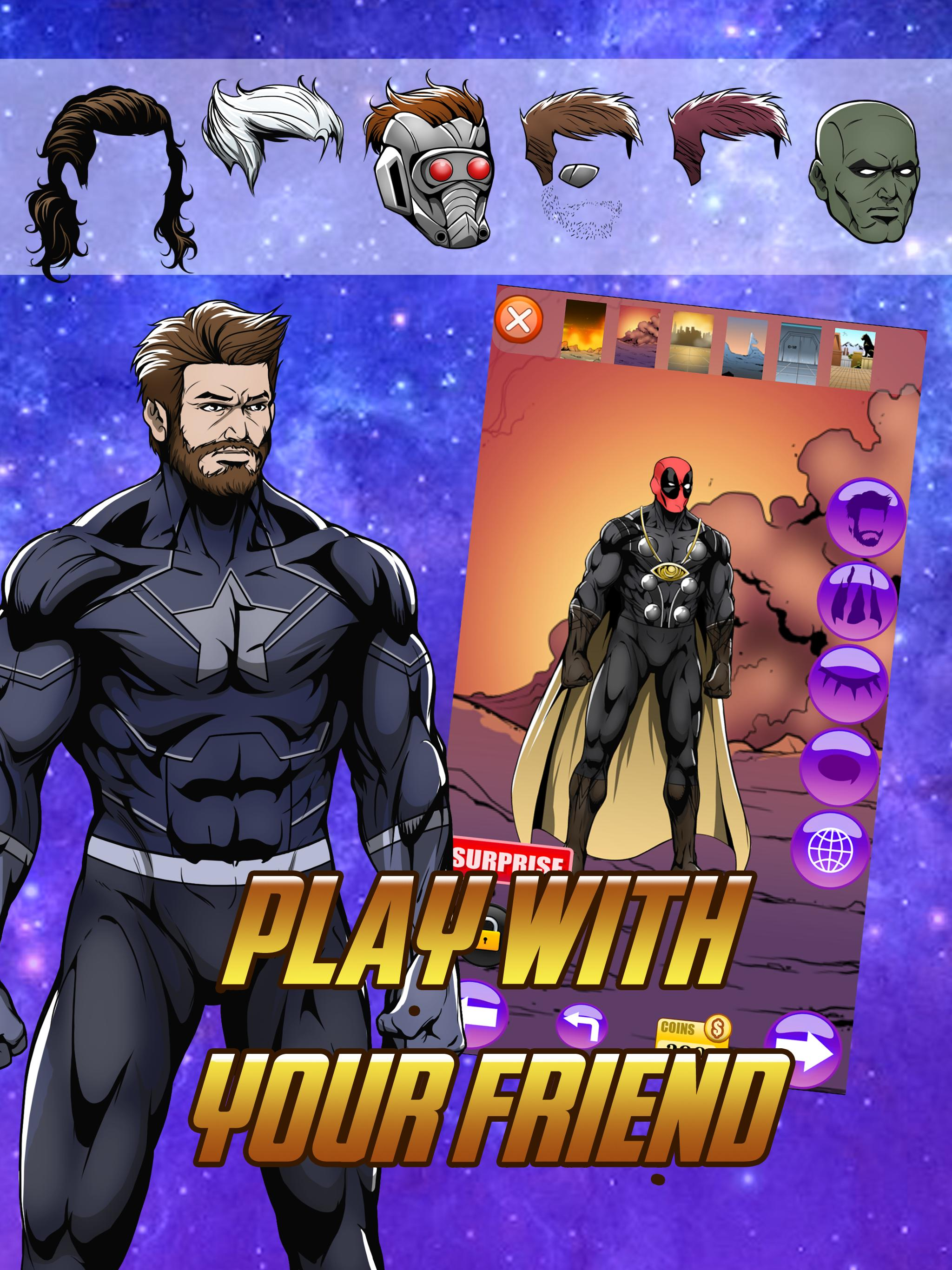 Avengers Infinity Wars SuperHero Creator for Android - APK