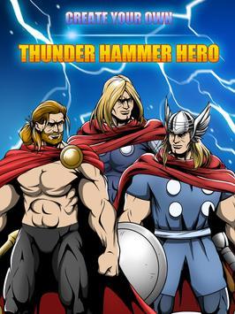 Superhero Thor Thunder Creator poster