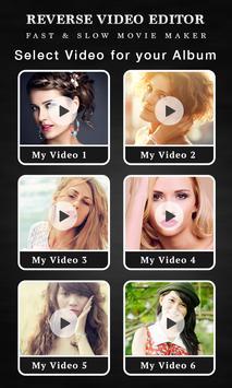 Reverse Video FX - Magic Video apk screenshot