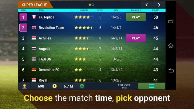 Revolution Football Manager screenshot 2