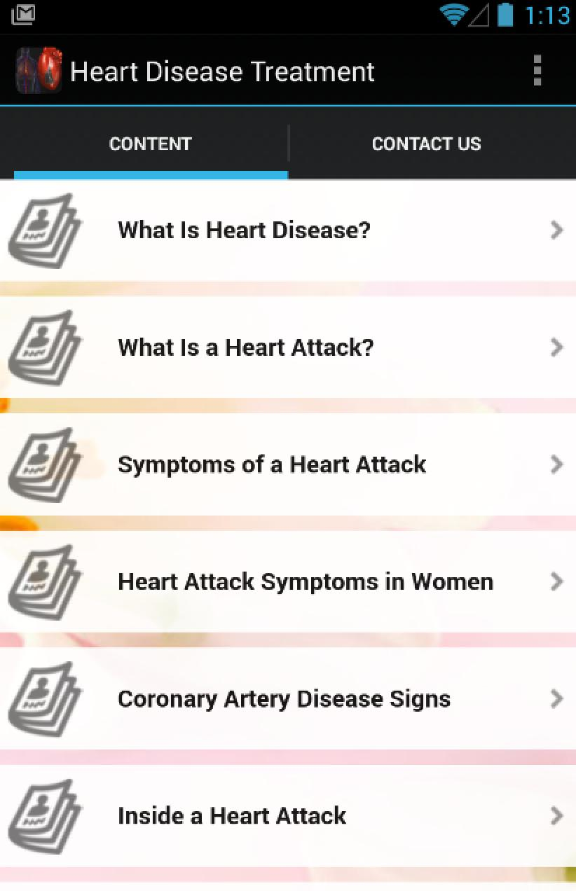 Heart Disease Treatment for Android - APK Download