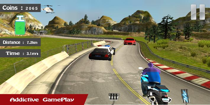 Motorbike Traffic Driving apk screenshot