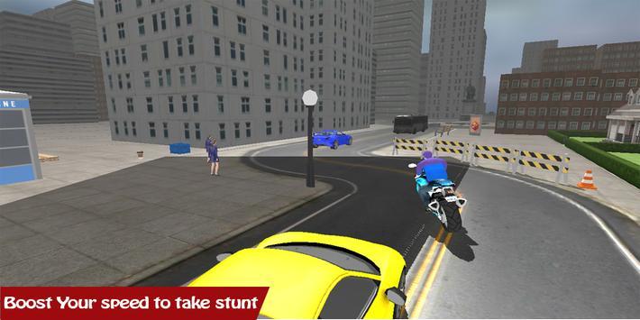 Motorbike Traffic Driving screenshot 5
