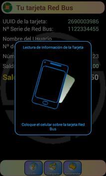 Red Bus Saldo NFC screenshot 1