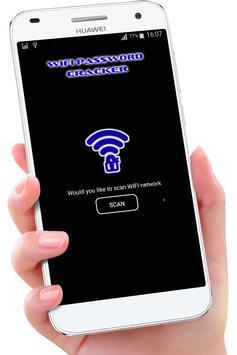 Wifi Password Hacker Prank apk screenshot