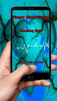 Fingerprint Blood Group Scanner apk screenshot
