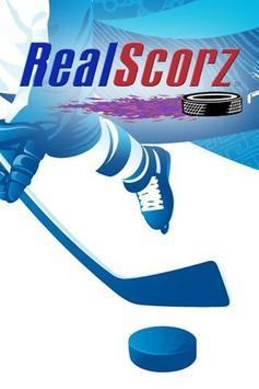 RealScorz Hockey poster