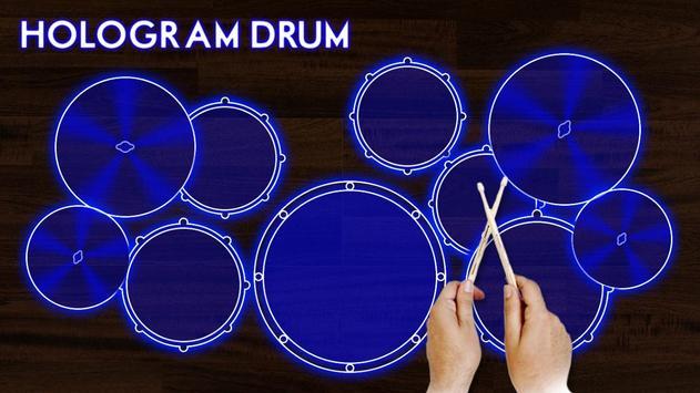 Hologram Drum Simulator screenshot 3