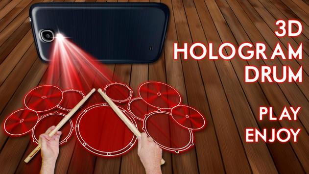 Hologram Drum Simulator poster