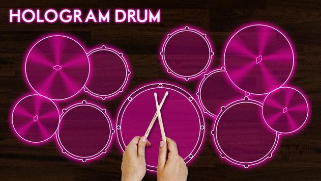 Hologram Drum Simulator screenshot 1