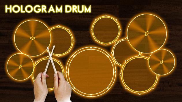 Hologram Drum Simulator screenshot 2