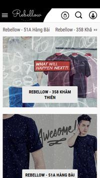 Rebellow Store poster